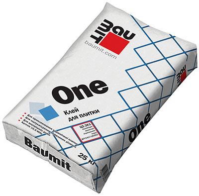 Baumit One (Баумит Ван) -  Клей для плитки: цены, фото, характеристики
