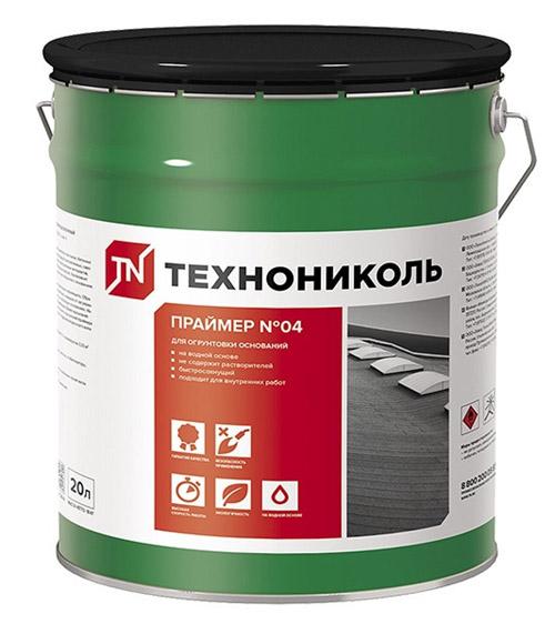 Купить Праймер битумный эмульсионный (ТЕХНОНИКОЛЬ №04)