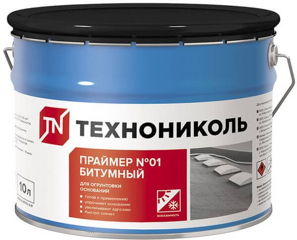 Праймер битумно-полимерный Технониколь №3 | Первый Дом