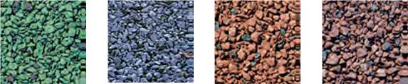 Техноэласт Декор цветовая гамма