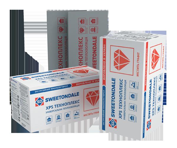 Техноплекс Sweetondale XPS (Технониколь) пенополистирол